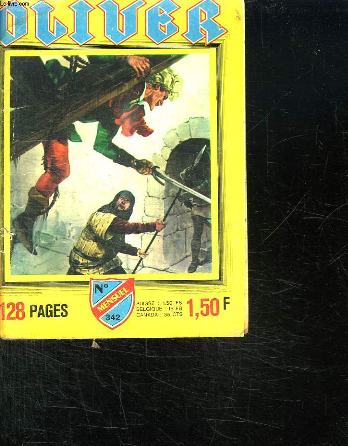 OLIVER N° 342. LA FOSSE AUX REQUINS.