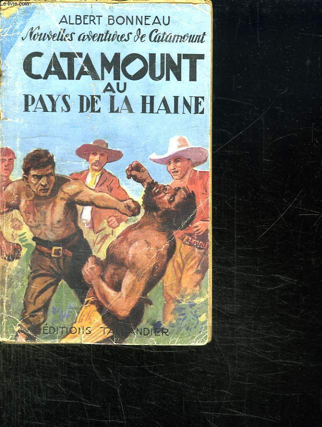 CATAMOUNT AU PAYS DE LA HAINE.