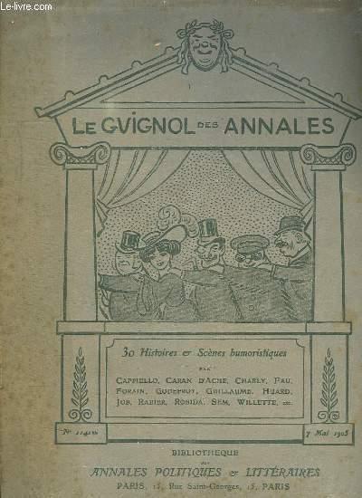 LE GUIGNOL DES ANNALES. 30 HISTOIRES ET SCENES HUMOURISTIQUES.