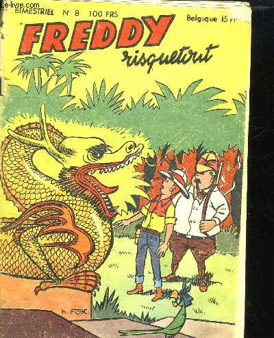 FREDDY RISQUETOUT N° 8.