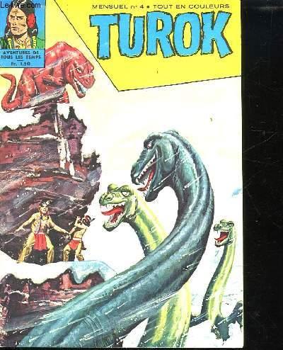 TUROK N° 4. LE MONSTRE AU LONG COU.