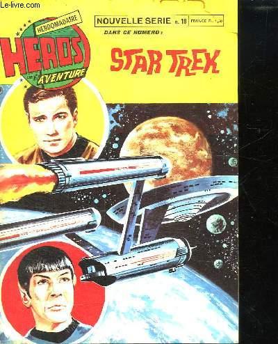 HEROS AVENTURE. N° 18.STAR TREK LA PLANETE FANTOME.