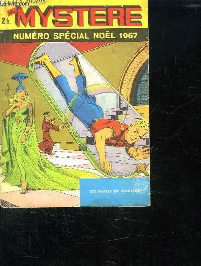 LES HEROS DU MYSTERE N° SPECIAL NOEL 1967.