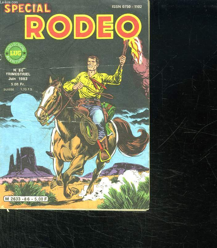 SPECIAL RODEO N° 86 JUIN 1983.
