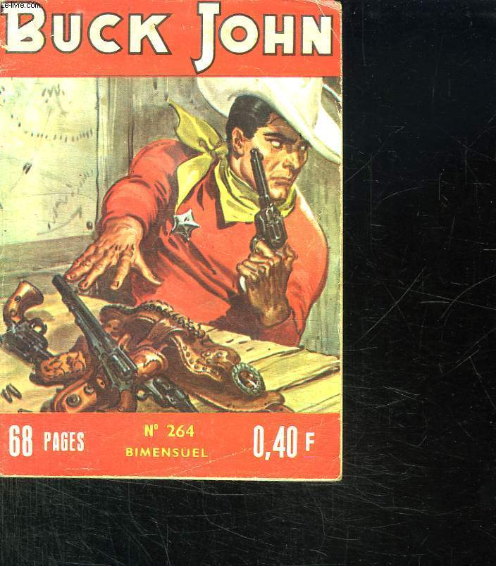 BUCK JOHN N° 264. LA CARTE MAUDITE.
