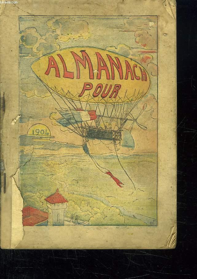 ALMANACH POUR 1904.