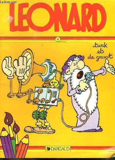 LEONARD N° 6. ALBUM DE COLORIAGE. TURK ET DE GROOT.
