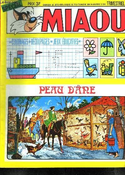 MIAOU N° 41. PEAU D ANE.