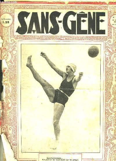 SANS GENE N° 519 31 AOUT 1929.