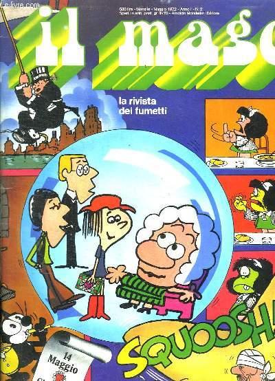 IL MAGO N° 2. MAGGIO 1972. LA RIVISTA DEI FUMETTI. TEXTE EN ITALIEN.