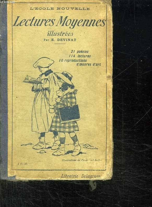 LECTURES MOYENNES ILLUSTREES POUR LES ENFANTS DE 9 A 12 ANS. 114 LESTURES. 21 POESIES. 10 REPRODUCTION D OEUVRES D ART.