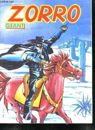 ZORRO GEANT N° 3.