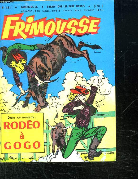 FRIMOUSSE N° 181. RODEO A GOGO.