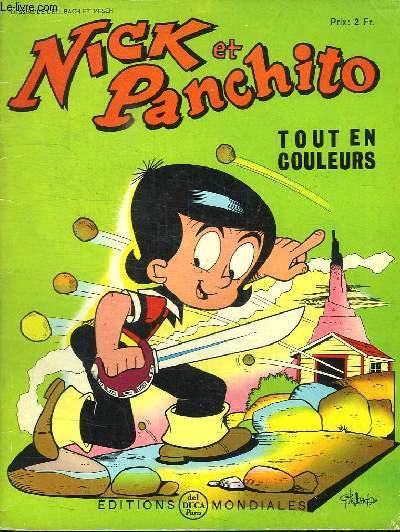 NICK ET PANCHITO N° 13. TOUT EN COULEURS.