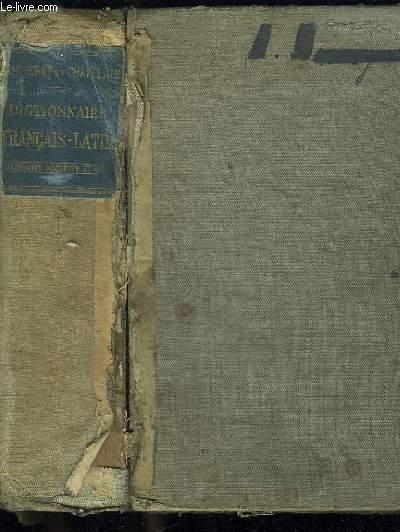 DICTIONNAIRE FRANCAIS LATIN. 39 em EDITION.