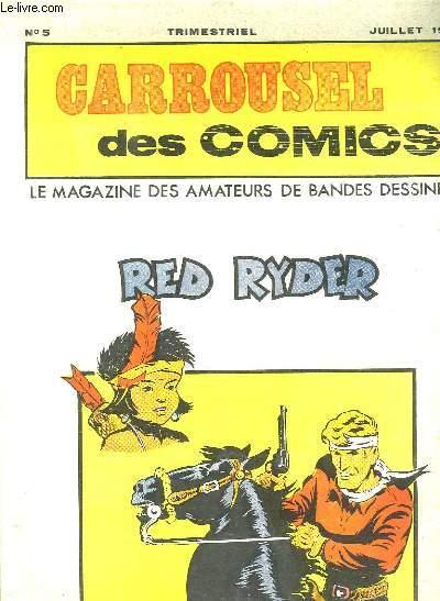 CARROUSEL N° 5 JUILLET 1976. RED RYDER.