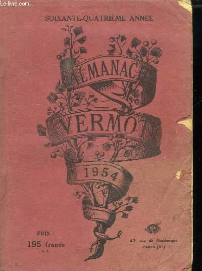 ALMANACH VERMOT 1954. SOIXANTE QUATRIEME ANNEE.