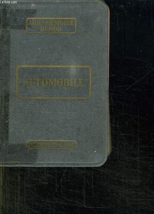AUTOMOBILE 1949. A L USAGE DES CONSTRUCTEURS D AUTOMOBILES DE MOTEURS D AVION ET D AVIONS INGENIEURS ET CHEFS D ATELIERS. 34em EDITION.