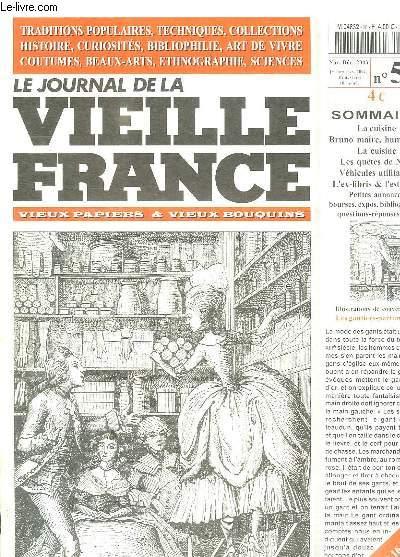 Le journal de la vieille france n 56 novembre decembre 2003 sommaire la cuisine bruno maire - La cuisine de bruno ...