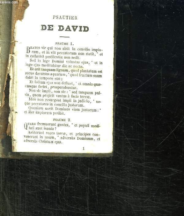 PSAUTIER DE DAVID.