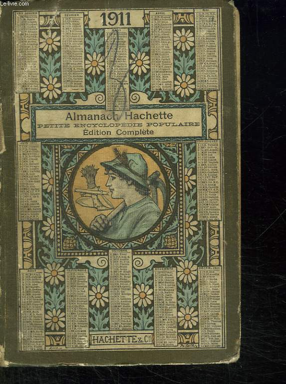 ALMANACH HACHETTE 1911.