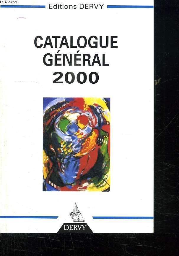 CATALOGUE GENERAL 2000.