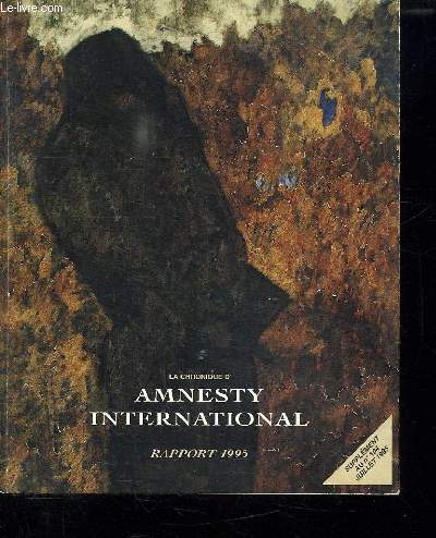 AMNESTY INTERNATIONAL RAPPORT 1995.