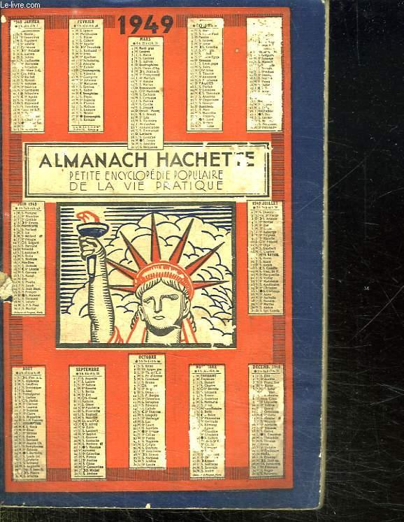 ALMANACH HACHETTE 1949.