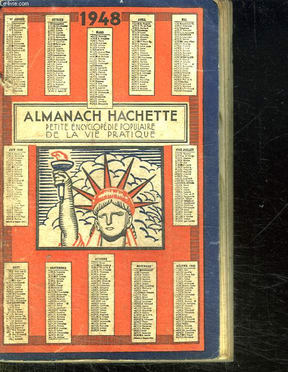 ALMANACH HACHETTE 1948.