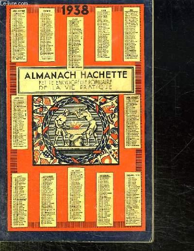 ALMANACH HACHETTE 1938.