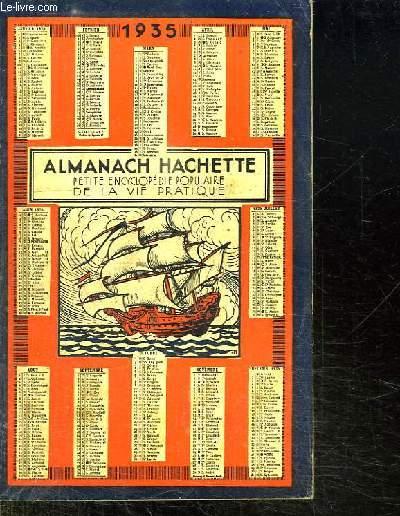ALMANACH HACHETTE 1935.