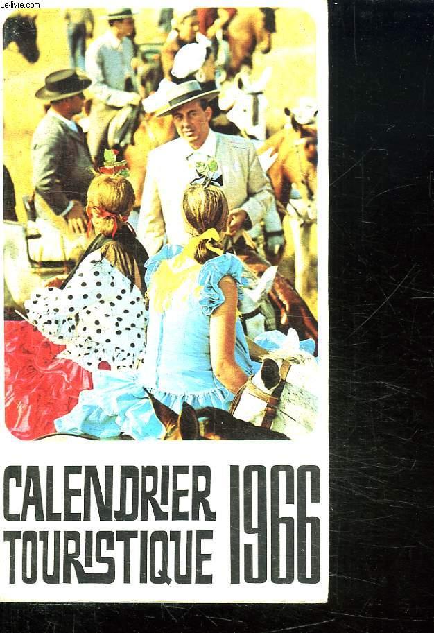 CALENDRIER TOURISTIQUE 1966.