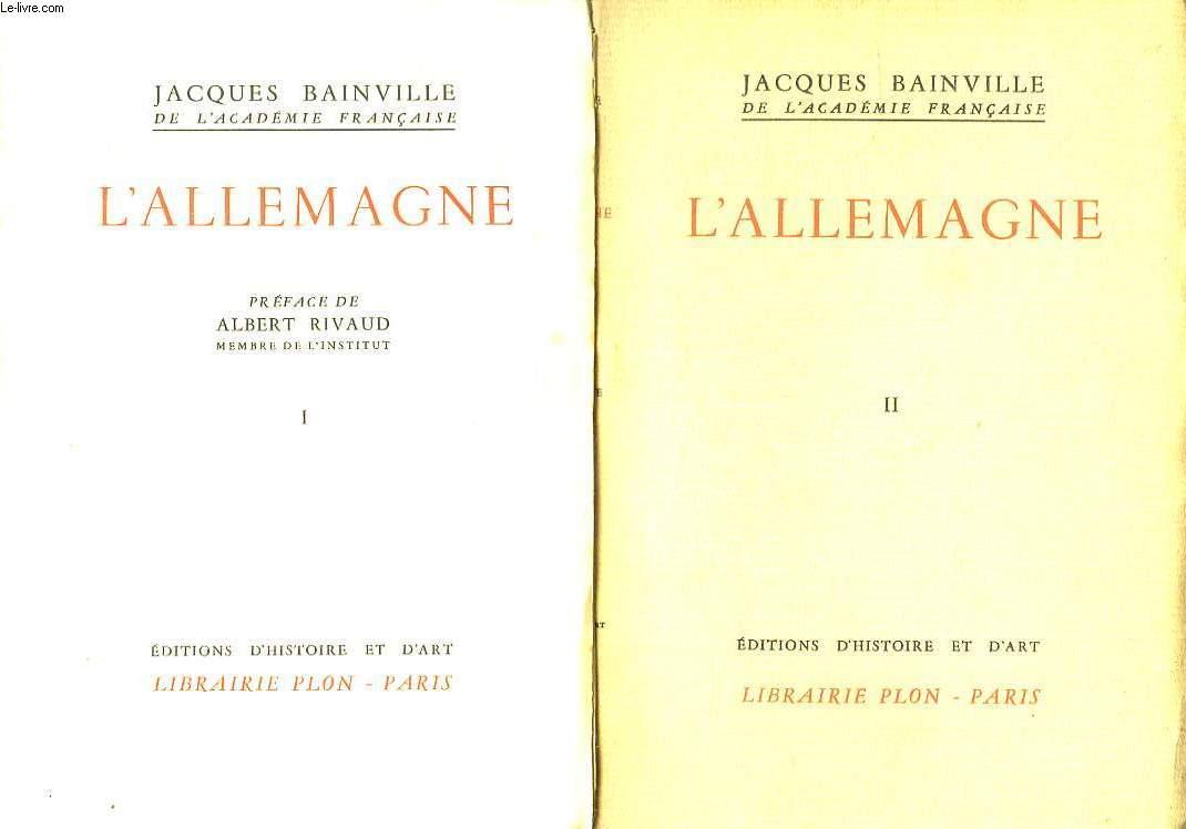 2 TOMES. L ALLEMAGNE.