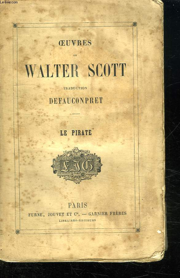 OEUVRES DE WALTER SCOTT. LE PIRATE.