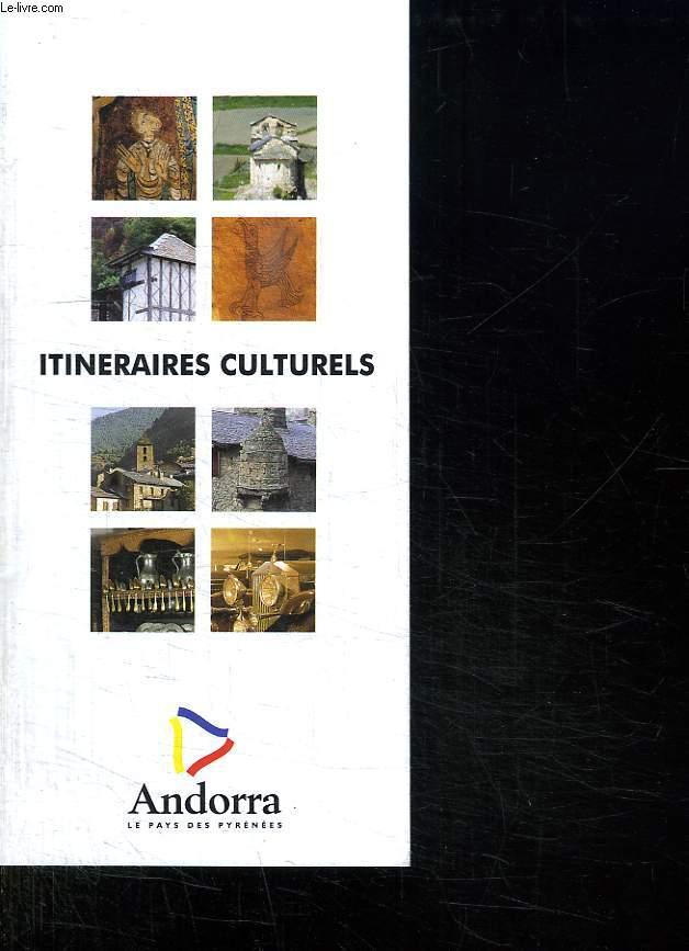 ITINERAIRES CULTURELS.