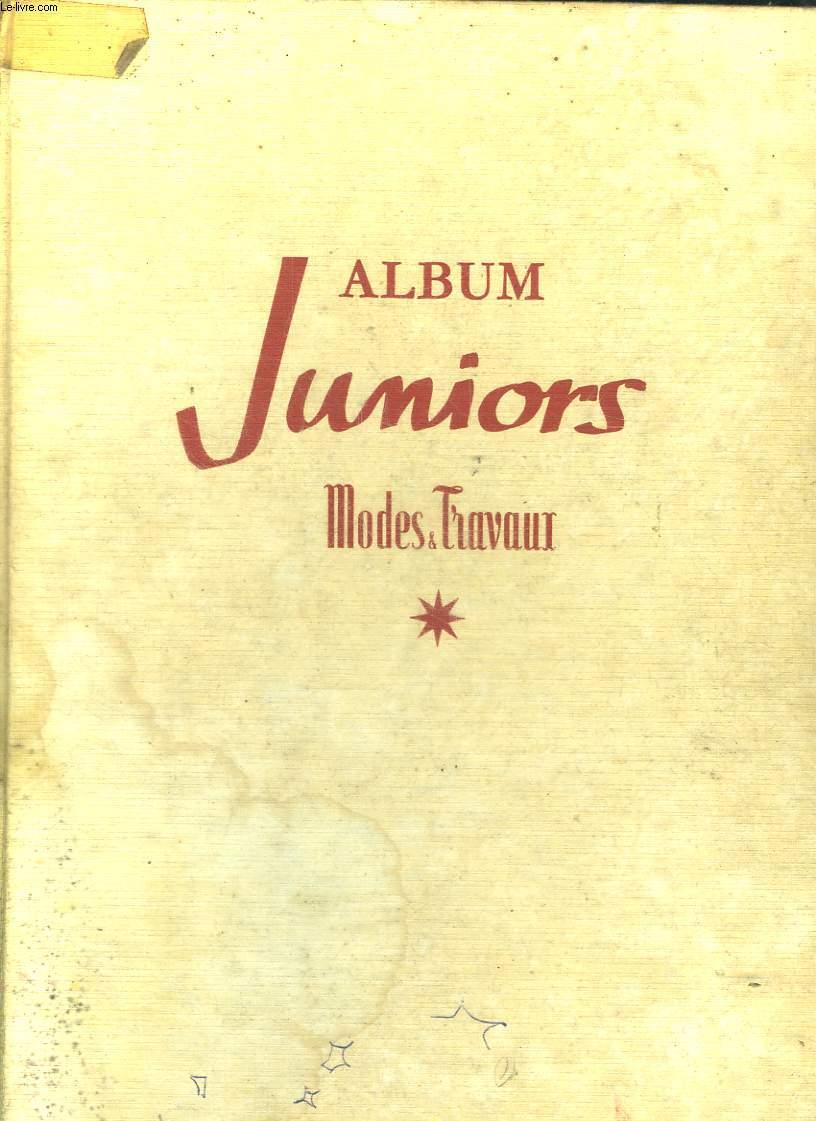ALBUM JUNIORS MODES ET TRAVAUX 1: LE PETIT PRINCE ET SON MIROIR PAR CRISTOBAL DE ACEVEDO, JONAS ET CASIMIR ET LES PIRATES DU SUD PAR SOPHIE ET GERARD DE REYNES, 1990 OU LES MOINS DE 15 ANS A L ASSAUT DU COSMOS PAR JEAN LUC BENO, HISTOIRE PARALLELE...