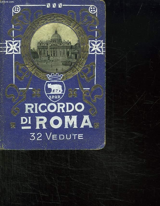 RICORDO DI ROMA. ALBUM PHOTO.