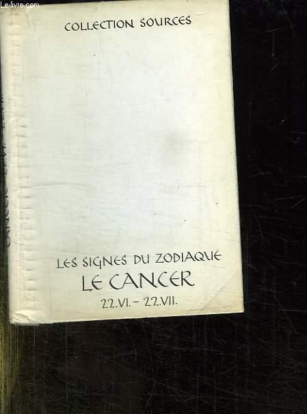 SOUS LE SIGNE DU CANCER 22 JUIN AU 22 JUILLET. PENSEES ET POEMES DE ANOUILH , BUCK, COCTEAU, FREYTAG, HUMBOLDT, KAFKA, LA FONTAINE, LEOPRADI, LICHTENBERG, PROUST, SAND, SAINT EXUPERY.