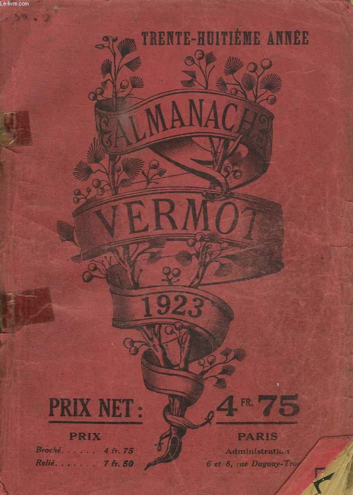ALMANACH VERMOT 1923.