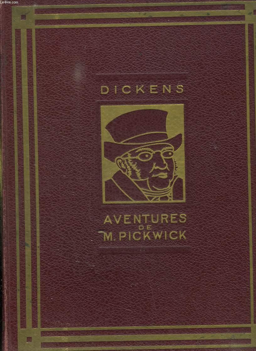 LES AVENTURES DE MONSIEUR PICKWICK.