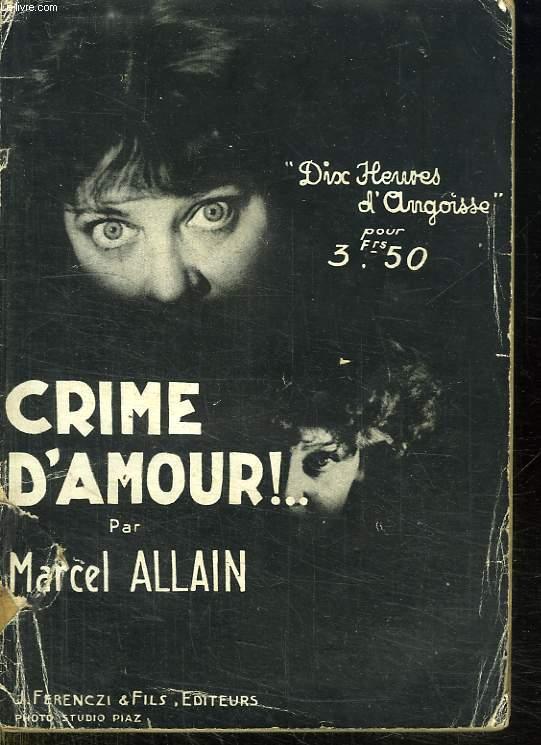 CRIME D AMOUR.