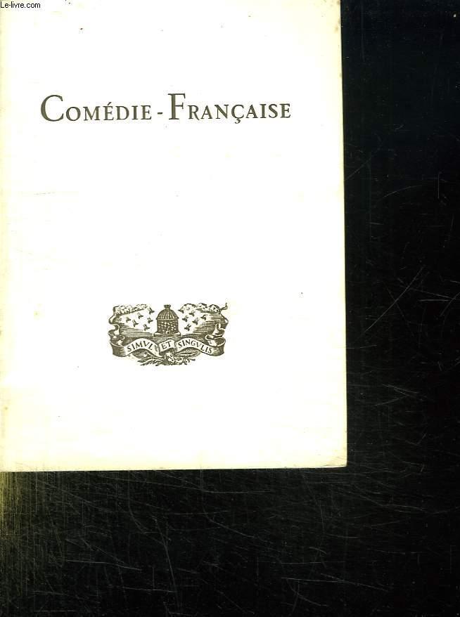 LA COMEDIE FRANCAISE.
