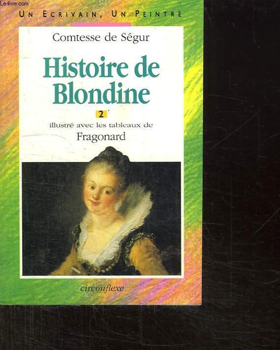 HISTOIRE DE BLONDINE. 2.