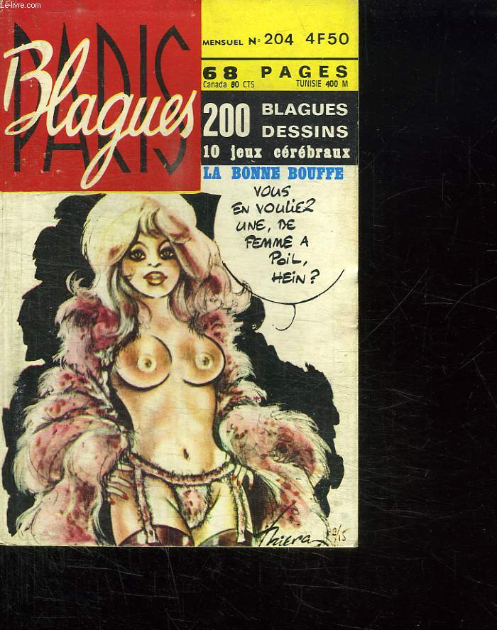 BLAGUES N° 204. 200 BLAGUES , DESSINS. LA BONNE BOUFFE.