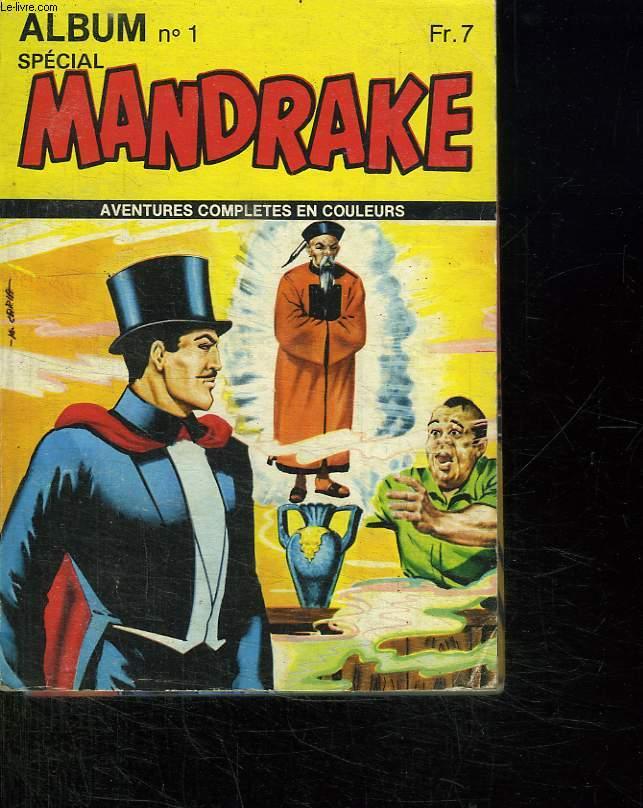 ALBUM N° 1 SPECIAL MANDRAKE. N° 7 ET 8 MONDES MYSTERIEUX.