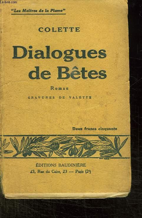 DIALOGUES DE BETES.