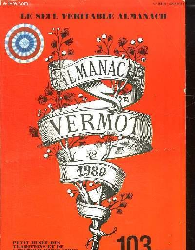 ALMANACH VERMOT 1989.