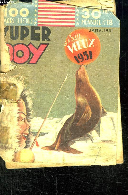 SUPER BOY N° 18 JANVIER 1951.