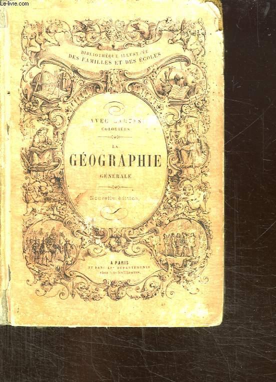 ELEMENTS DE GEOGRAPHIE GENERALE. 3em EDITION.
