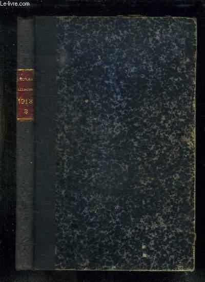 L ECOLIER ILLUSTRE DU N° 20 AU N° 35 DE L ANNEE 1913.